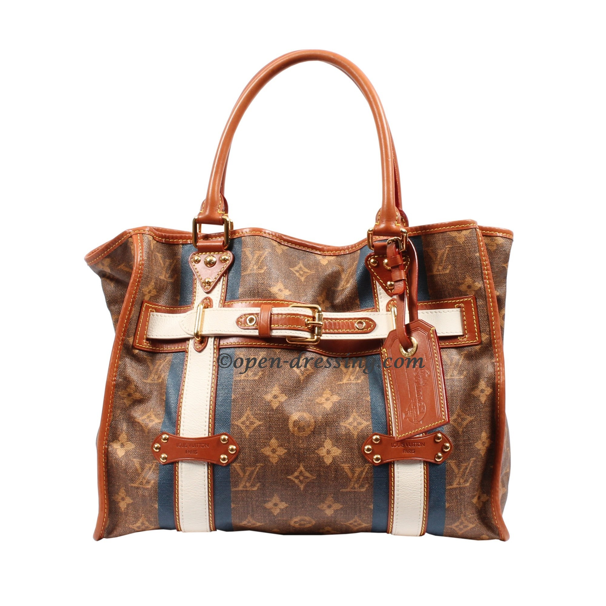 d3d5799d7247 Sac de voyage Louis Vuitton Rayures GM fly over the image to zoom